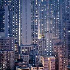 endless buildings, endless lights