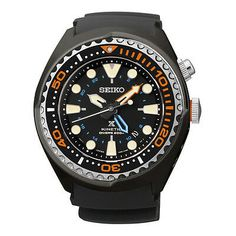 Seiko Prospex Kinetic GMT Diver's Watch Full Kit for sale online Scuba Watch, Big Watches, Wrist Watches, Seiko Men, Amazing Watches, Luxury Watches For Men, Stainless Steel Watch, Digital Watch, Watches