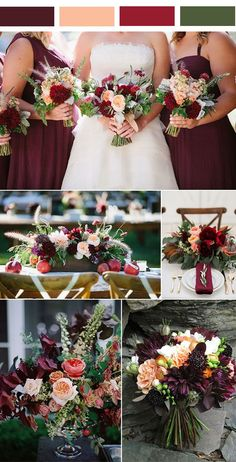 Burgundy or marsala is cool rich color that is perfect for fall and winter seasons, and It looks very lush and noble with gold accents. This contrasting combo is perfect for any type of décor and for your outfits. Bur...