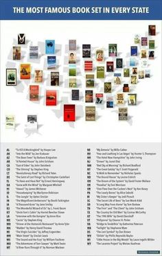 Books set in every state
