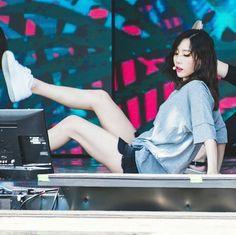 ❤ SNSD ❤ Kim TaeYeon ♡ 김태연 ♡ DMZ Peace Concert Rehearsal 평화콘서트