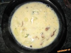 Dokonalá KULAJDA Czech Recipes, Ethnic Recipes, Soup Recipes, Recipies, Cheeseburger Chowder, Mashed Potatoes, Meals, Recipes, Whipped Potatoes