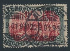 Germany stamp (GE). VERY FINE. Scott catalog value: $2,250. Stock # 333947 || #philately