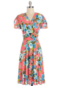One Floral, All for One Dress in Bright