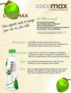 Pour en savoir un peu plus sur COCOMAX... Credit: Ulti Fruit