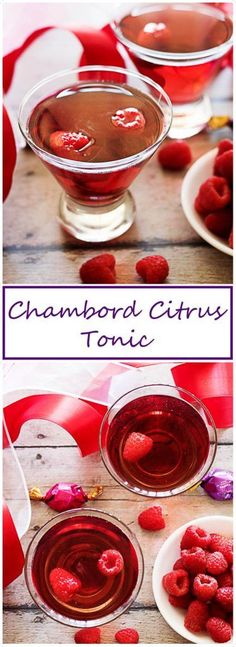 A bold and refreshing cocktail made with Chambord, citrus vodka, and crisp tonic water that awakens your senses and tickles your taste buds. via @berlyskitchen