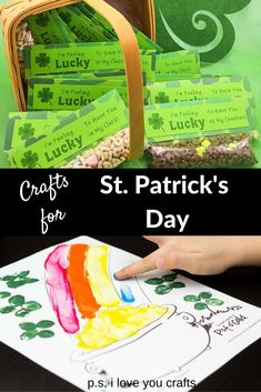 d4419b42aaa 417 Best St. Patrick s Day Craft   Party Ideas images in 2019