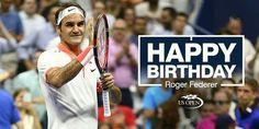 Happy 35th birthday, Roger Federer...August 8th, 2016...