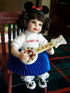 Nancy Peterson's Personal Collection. A Marie Osmond Doll, Baby Annette-50th Anniversary Tiny Tot is sculpted by Jo Ann Pohlman in 2006