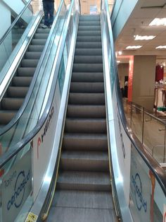 Escaleras de tienda comercial, Johnson
