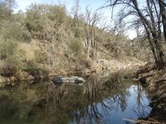 4565 Summer Stream Ln, Placerville, CA 95667 — 35+ acres on Weber Creek with Mobile home on SPECIAL USE PERMIT! Well and septic permitted. 12GPM well when drilled. Enjoy the Year Round Weber Creek that flows thru the property! Well, Power Phone and septic on property! Zoned RE-5 but land use is Industrial! East 4 acres was used as Rock Quarry. Property has a nice flat usable area by the creek for your animals, orchard, vineyard or garden. Hilltop building sites! Very unique property, not…