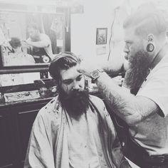 Lane Toran getting the works. proper trim by a proper fella @iamdanielwinter