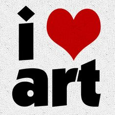 I <3 art! What about you?? #art #quotes #artists #artquotes