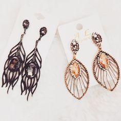 Brincos novos  #jewelry #jewels #jewel #fashion #gems #gem #gemstone #stones #stone #trendy #accessories #crystals #style #fashionista #accessory #instajewelry ##instagood #beautiful #girl #amazing #bestoftheday #style #beauty #instalove #loveit #blog #blogger #jewelrygram #earrings
