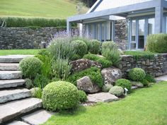 Suzanne Turley Landscapes in NZ - In the book, The Spirit of Stone, Chapter 2 is all about rock gardens