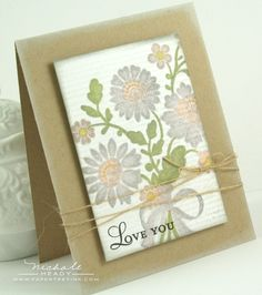 Beautiful .. love this from Papertreyink