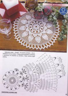 Kira scheme crochet: Scheme crochet no. 1552