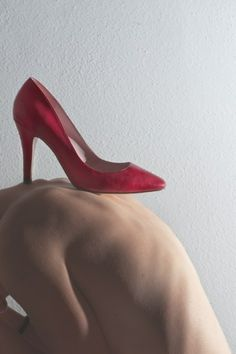 "A very unique and interesting campaign!! ""Wear Red Shoes Against Femicide"""