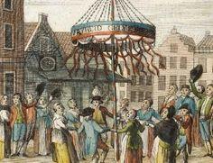 De Franse Tijd begon in 1795 met de Franse inval en de vlucht van Willem V naar Engeland. Patriotten namen de macht over en riepen op 20 januari van dat jaar de Bataafse Republiek uit.