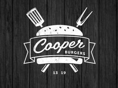 Great examples of Black and White Logos