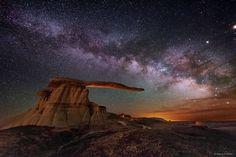 King of Wings Hoodoo under the Milky Way