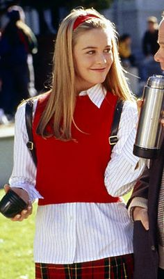 Alicia Silverstone as Cher Horowitz in the movie Clueless. (this was my favorite movie as a kid) Clueless Outfits, Clueless Fashion, 90s Fashion, Cool Outfits, Fashion Outfits, Clueless 1995, Clueless Style, Ladies Fashion, Fashion Ideas