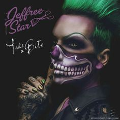 """Take A Bite"" of Jeffree Star's makeup! I love it!"