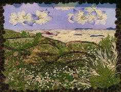 """""""Pansies in the Sky"""" (not Lucy) pressed flowers by Moon Pappy, via Flickr"""