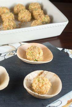 Smoked Almond Chicken Salad Bites | Inspiration Kitchen