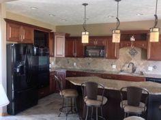 Kitchen Remodel In Norfolk, NE. Designed By Bonnie Johnson With GV Kustom  Kitchens In