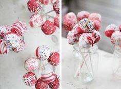 cake pop valentines!