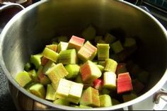 Rhubarb and Orange Chutney - delicious with cheese, ham, or try stuffing a chicken breast before baking