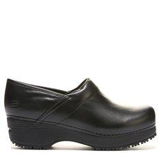 9aa0ee8a568488 Skechers Work Women s Tone Ups Slip Resistant Electrical Hazard Clog Shoes  (Black) - 5.0. FamousFootwear.com