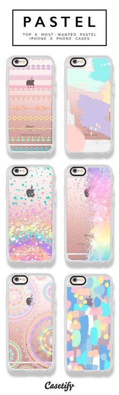 6 most wanted pastel iPhone 6 phone cases | Click through to shop >>> https://www.casetify.com/artworks/ZwiXLUrvly #phonecase #protective #color #palette | @casetify: