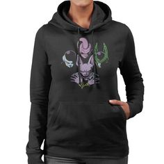 Dragonball Z Villains Queen Bohemian Rhapsody Women's Hooded Sweatshirt by Ang Dzu - Cloud City 7 Cloud City, Hooded Sweatshirts, Hoodies, Cute Woman, Dragon Ball Z, Sportswear, Bohemian, Final Fantasy, Fan Art