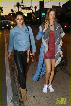 Behati Prinsloo, Lily Aldridge, & Rosie Huntington-Whiteley Grab Dinner!: Photo 3618567 | Behati Prinsloo, Lily Aldridge, Pregnant Celebrities, Rosie Huntington-Whiteley Pictures | Just Jared