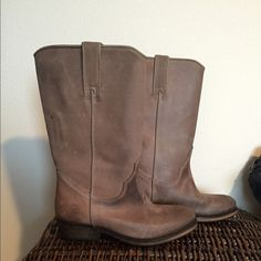 Sale - Bronx of Holland Boots Brand new without box! Taupe western style boots size 38 runs smal will fit 7/6.5. Not michael kors! Steve Madden Shoes