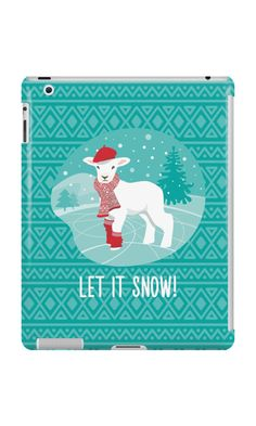 """""""Let It Snow!"""" iPad Cases & Skins by LunaSolvo 