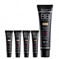 BB Cream Foundation Bb Cream Foundation, Foundation Primer, Base Bb, Gosh Cosmetics, Flawless Face, Cream Cream, All In One, Moisturizer, Makeup
