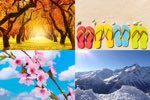 Filastrocche sulle Stagioni Poems, Mountains, Nature, Painting, Travel, Art, Party, Art Background, Naturaleza