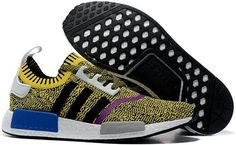 check out 7959f 44dd9 Adidas NMD Runner PK men women Yellow Black Adidas Nmd, Adidas Sneakers, Nike  Shoes