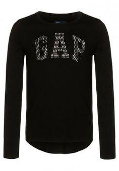 GAP - Bluzka z długim rękawem - true black