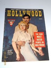 CLARK GABLE & LANA TURNER 1942 HOLLYWOOD MAGAZINE. Happy to say I have this one in my collection.