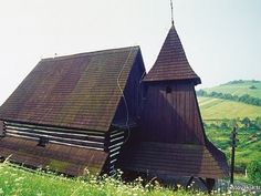 Brežany - Kostol sv. Lukáša Evanjelistu . Drevené kostoly - Slovakia.travel