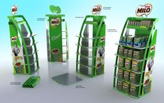 Point of Sale - Display stands by Alp Germaner at Coroflot.com