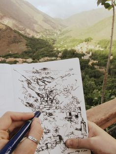 Mt. Toubkal - From Earth to Heaven | Trails of Paint - Sketching in Imlil, Morocco