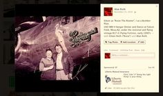 """With Eileen as Rosie The Riveter at the USO/Hangar Party by the B-17G """"Sentimental Journey, Falcon Field, Mesa, AZ."""