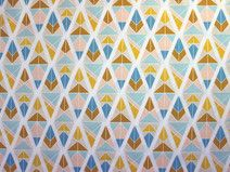 Quality fabric store seated in the heart of the Europe. Geometric Fabric, Art Gallery Fabrics, Decorating Your Home, Etsy Seller, Quilts, Creative, Cotton, Quilt Sets, Log Cabin Quilts