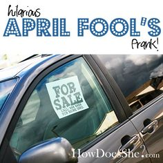 BEST April Fool's Day Prank - EVER