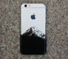 Crystal Transparent Snow Mountain iPhone 6 Case,iPhone 5S/5 Case,iPhone 5C Case…